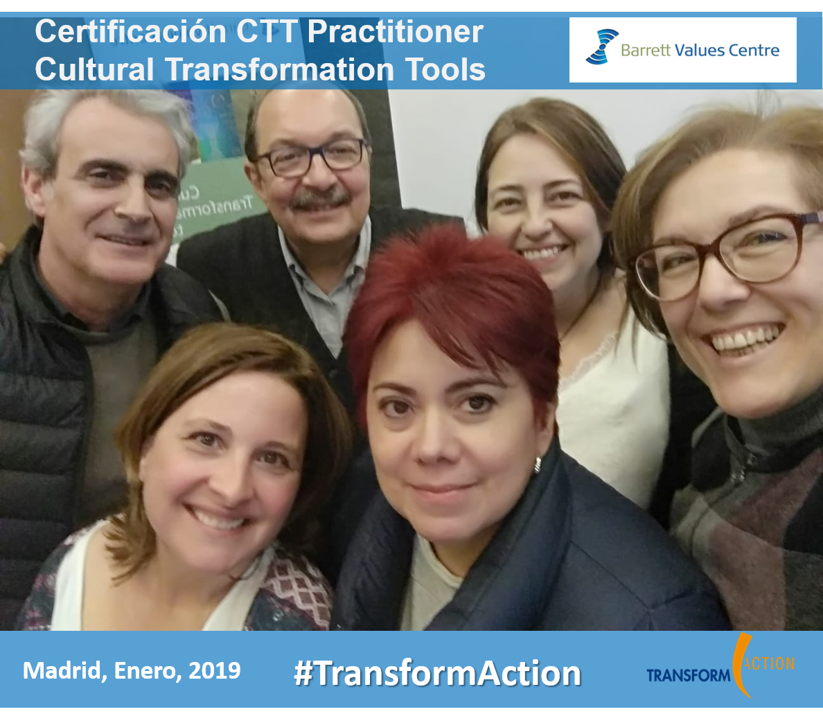 Más Certificados en Cultural Transformation Tools: Bienvenid@s!