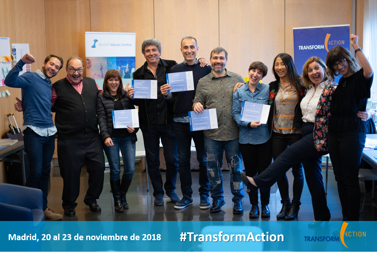 Welcome new Certificates in Systemic Cultural Transformation to our network!