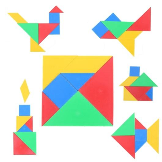 Cohesión tangram, María LLadró.