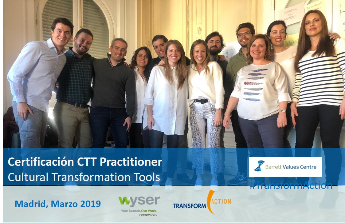Bienvenido Wyser a nuestro Network CTT | Transform Action
