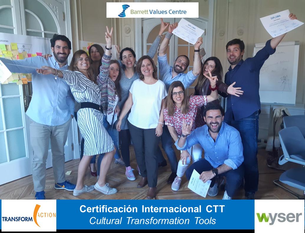 Certificación Internacional CTT | Transform Action