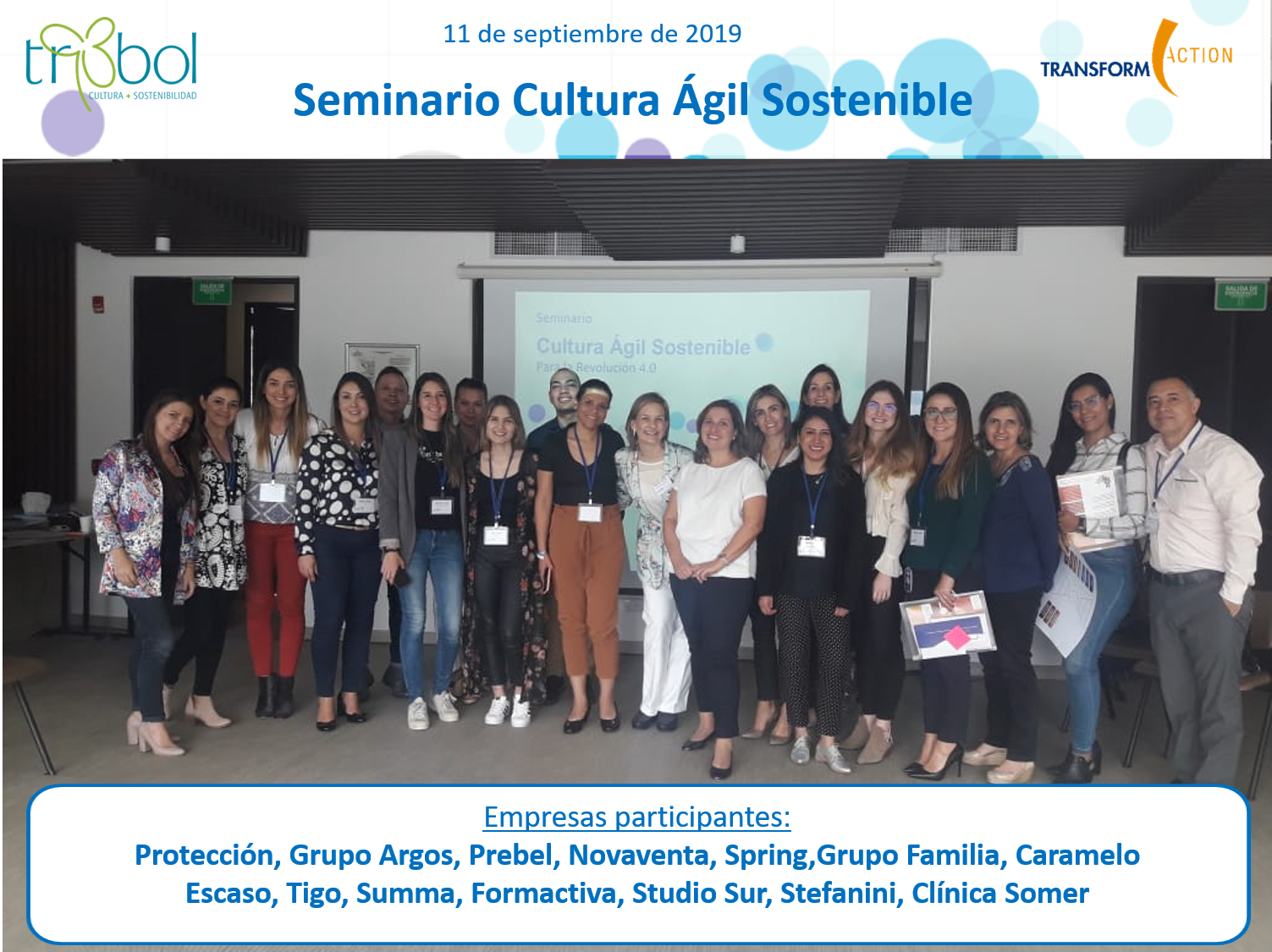 Seminario Cultura Ágil Sostenible | Transform Action