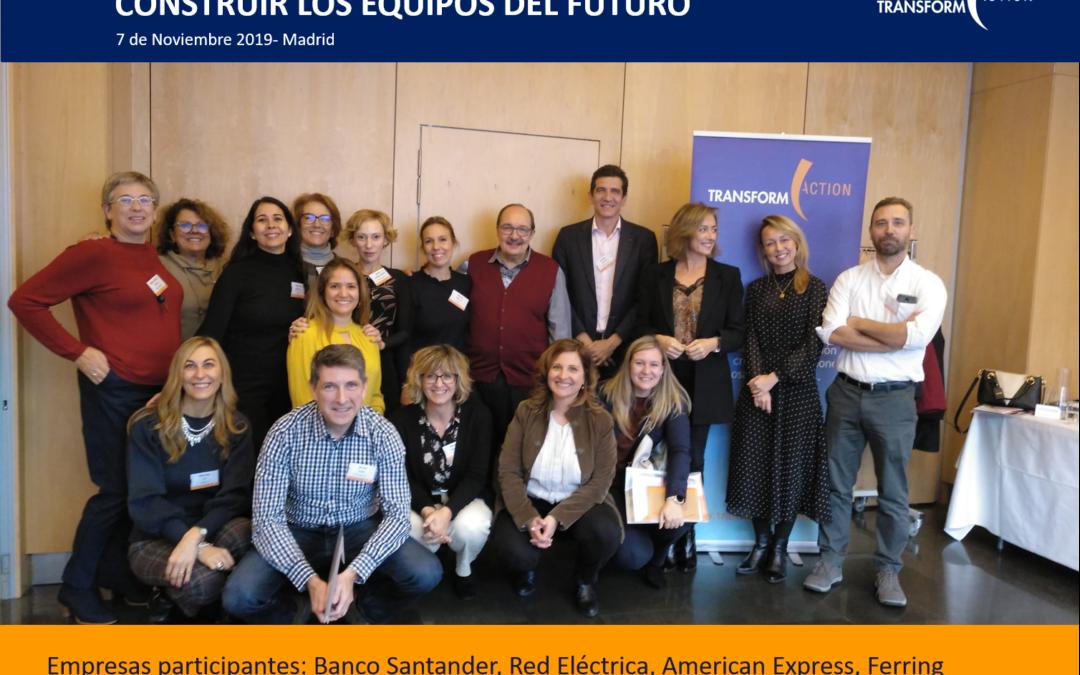 Seminario Construir los Equipos del Futuro.Madrid