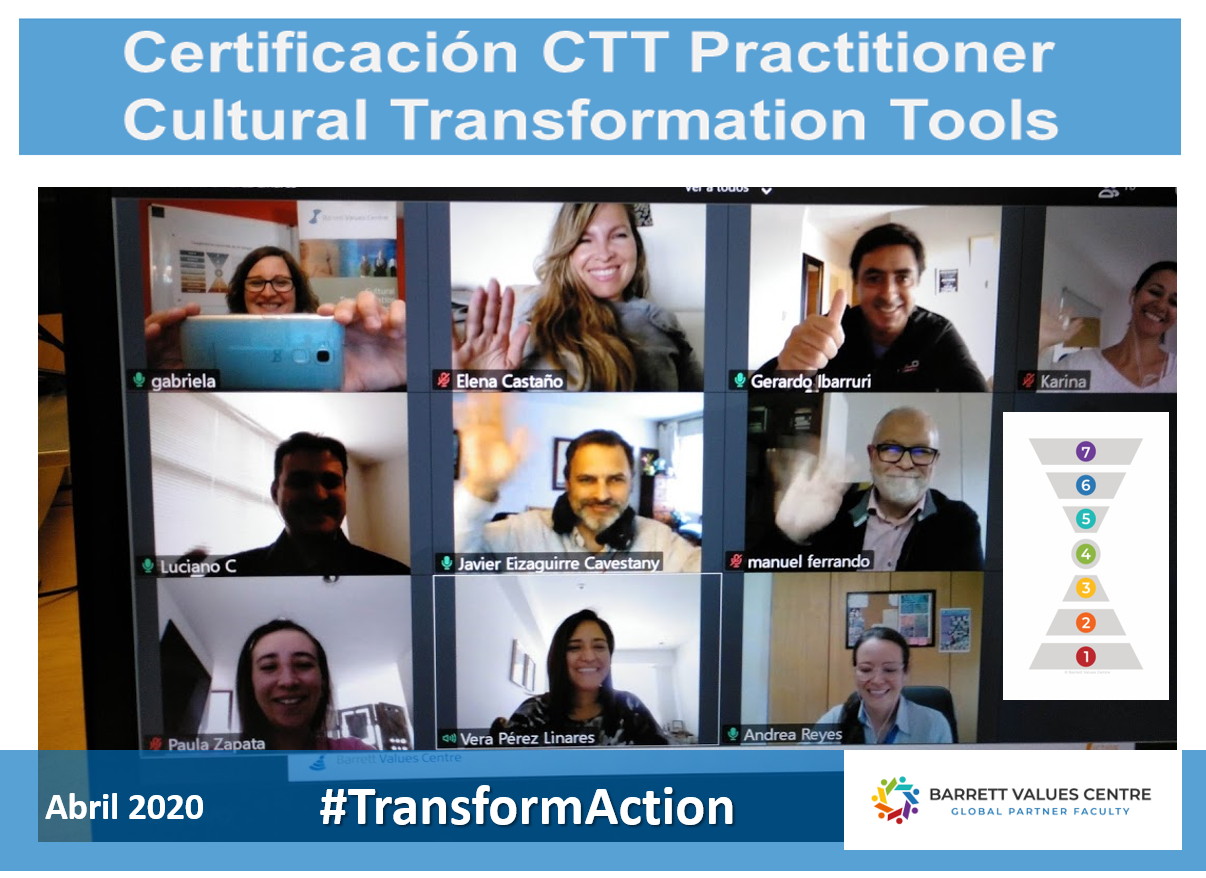 Más Certificados en Cultural Transformation Tools- Virtual Training