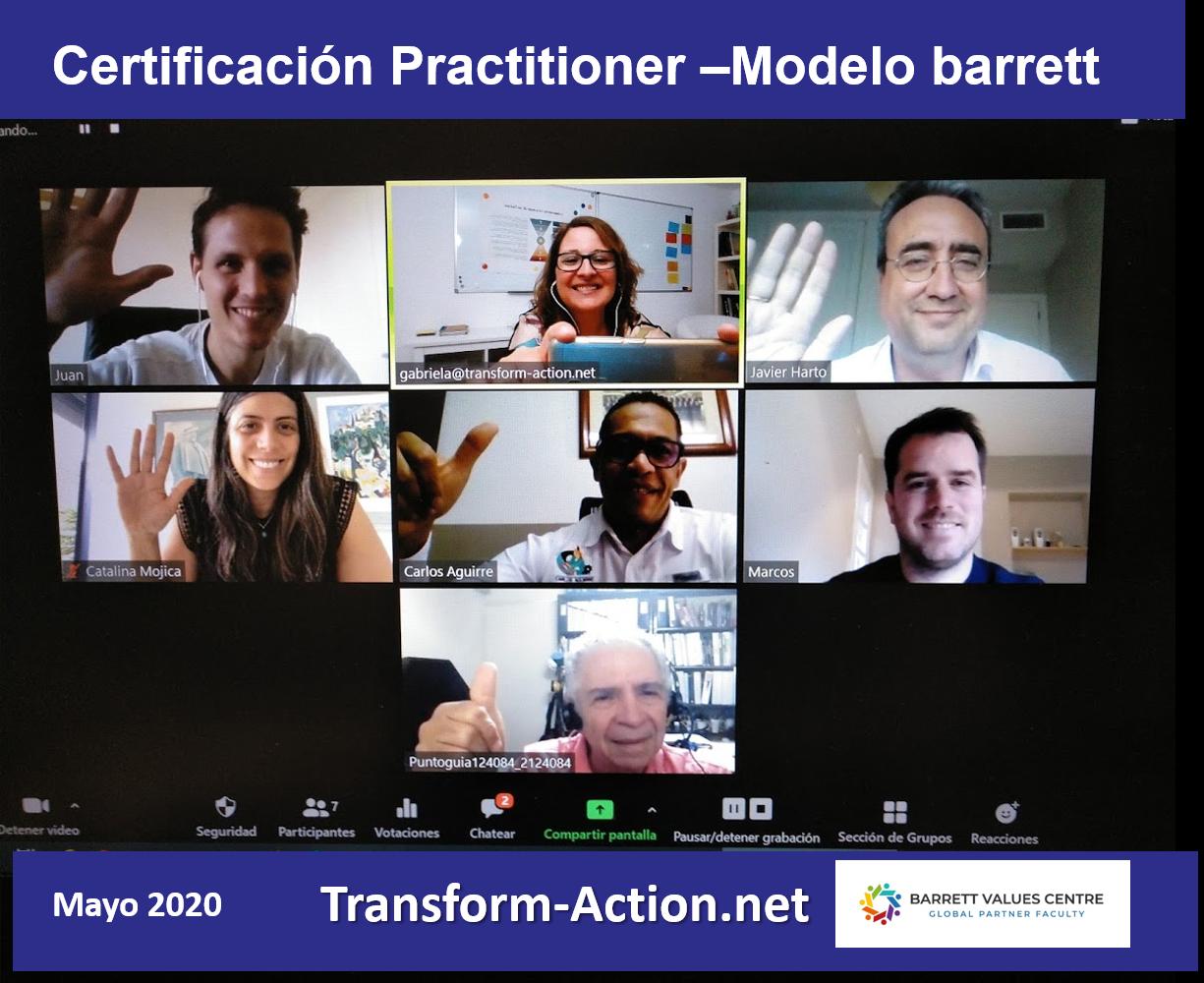 Más Certificados en el Modelo Barrett y en diagnósticos de Cultura
