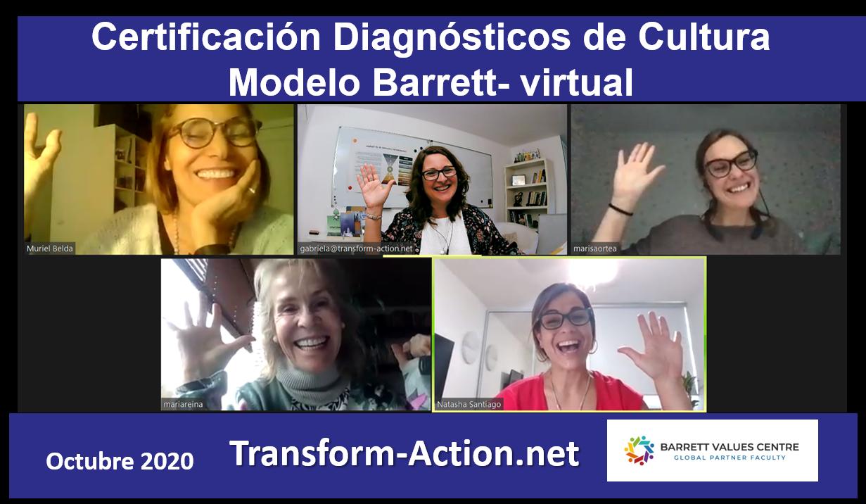 Más Certificadas en Diagnósticos de Cultura Modelo Barrett