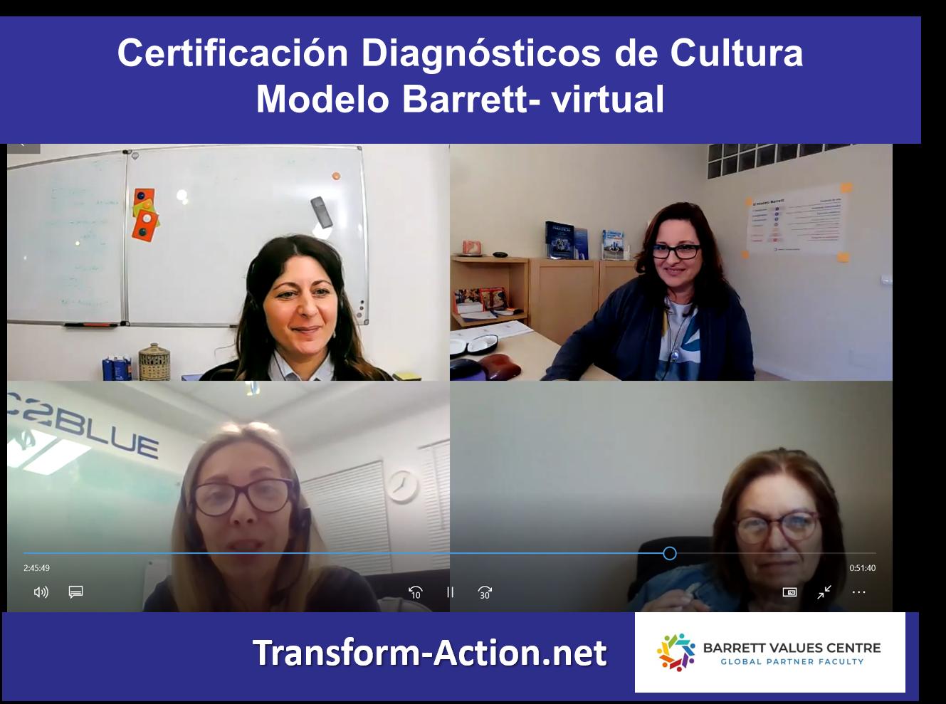 Más Certificados en Diagnósticos de Cultura Modelo Barrett