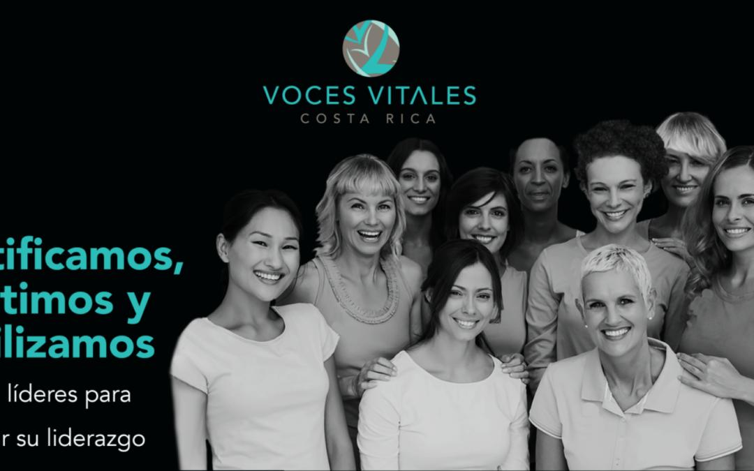 María Antonieta Chaverri, Directora Ejecutiva de Voces Vitales, ganadora del sorteo TransformAction